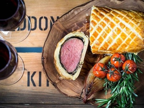 Pair Beef Wellington with Cabernet Franc