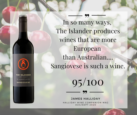 James Halliday review of The Sangiovese